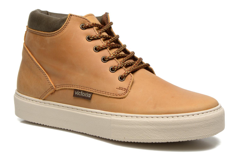 Chaussures à lacets Victoria Bota Piel Cuello Marron vue détail/paire