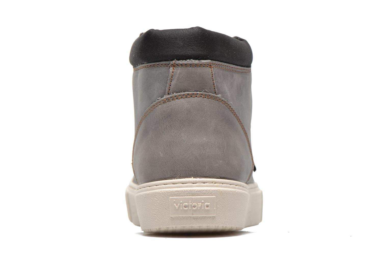 Chaussures à lacets Victoria Bota Piel Cuello Gris vue droite