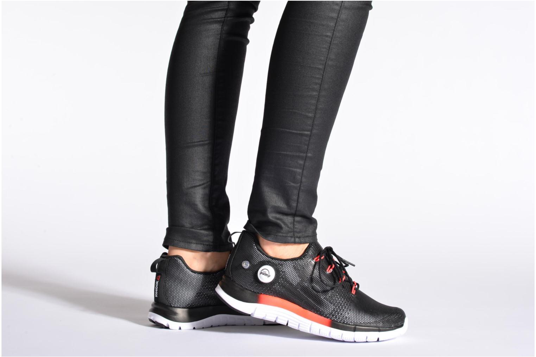 Chaussures de sport Reebok Reebok Zpump Fusion Pu W Noir vue bas / vue portée sac