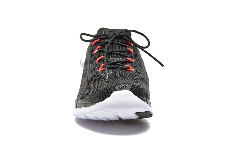 Chaussures de sport Reebok Reebok Zpump Fusion Pu W Noir vue portées chaussures