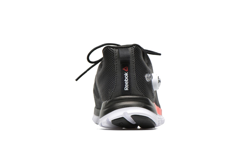 Chaussures de sport Reebok Reebok Zpump Fusion Pu W Noir vue droite