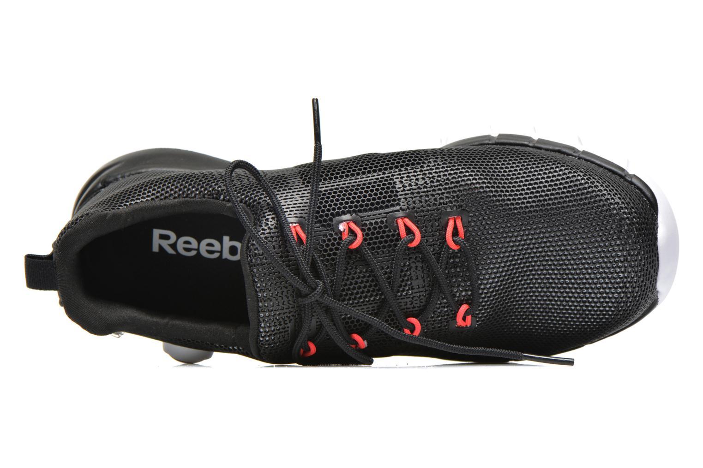 Chaussures de sport Reebok Reebok Zpump Fusion Pu W Noir vue gauche
