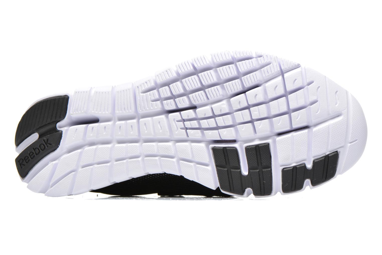 Chaussures de sport Reebok Reebok Zpump Fusion Pu W Noir vue haut