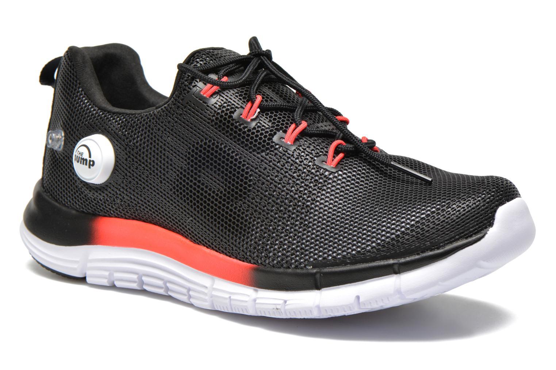 Chaussures de sport Reebok Reebok Zpump Fusion Pu W Noir vue détail/paire