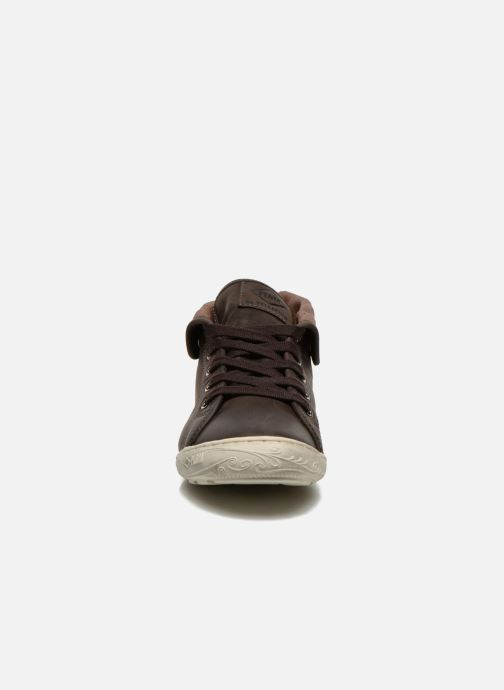 Baskets P-L-D-M By Palladium Gaetane CLP Noir vue portées chaussures