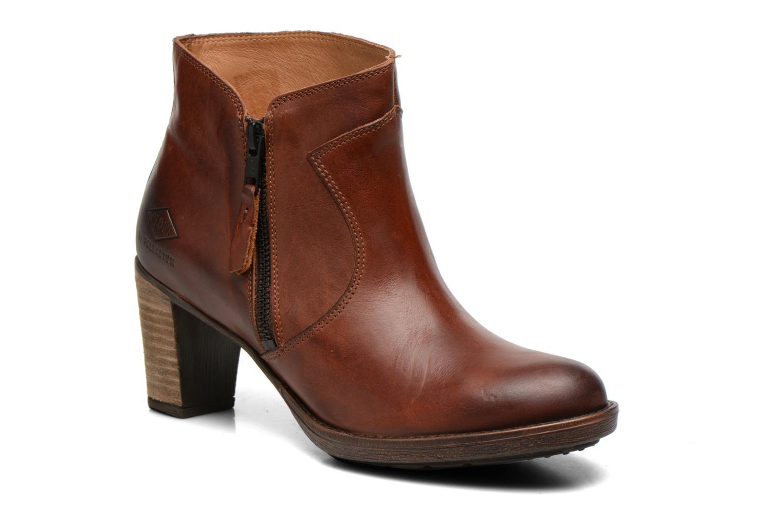 Bottines et boots P-L-D-M By Palladium Spring CT Marron vue détail/paire