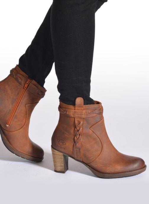 Bottines et boots P-L-D-M By Palladium Stony CSR Gris vue bas / vue portée sac