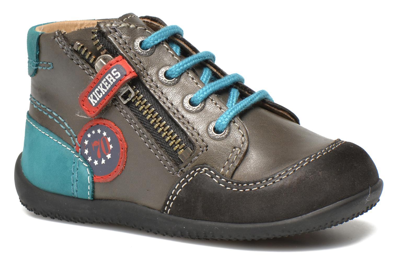 b6ad58b684ec5 Kickers Bi Free (Gris) - Bottines et boots chez Sarenza (254740)