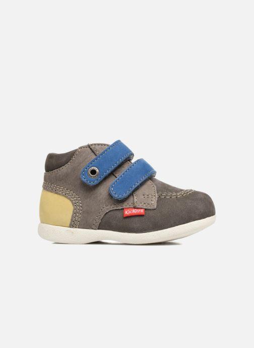 Schoenen met klitteband Kickers Babyscratch Grijs achterkant