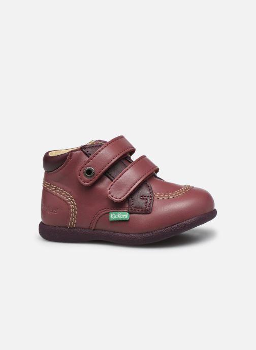 Zapatos con velcro Kickers Babyscratch Violeta      vistra trasera