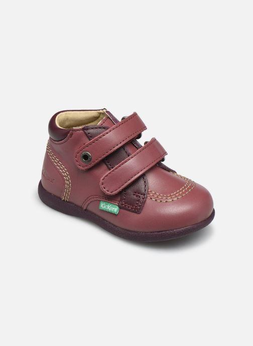 Zapatos con velcro Kickers Babyscratch Violeta      vista de detalle / par