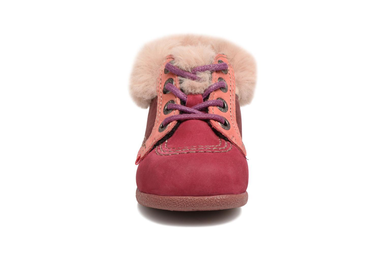 Bottines et boots Kickers Babyfrost Violet vue portées chaussures
