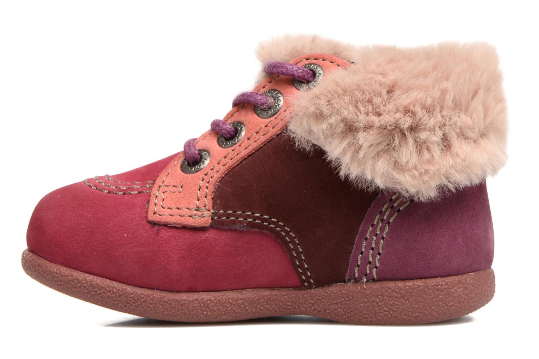 Bottines et boots Kickers Babyfrost Violet vue face