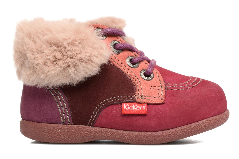 Bottines et boots Kickers Babyfrost Violet vue derrière
