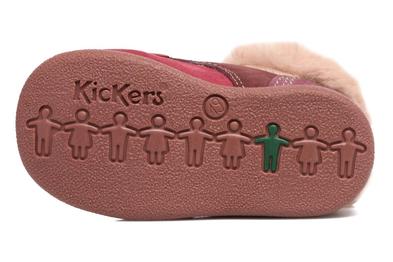 Bottines et boots Kickers Babyfrost Violet vue haut