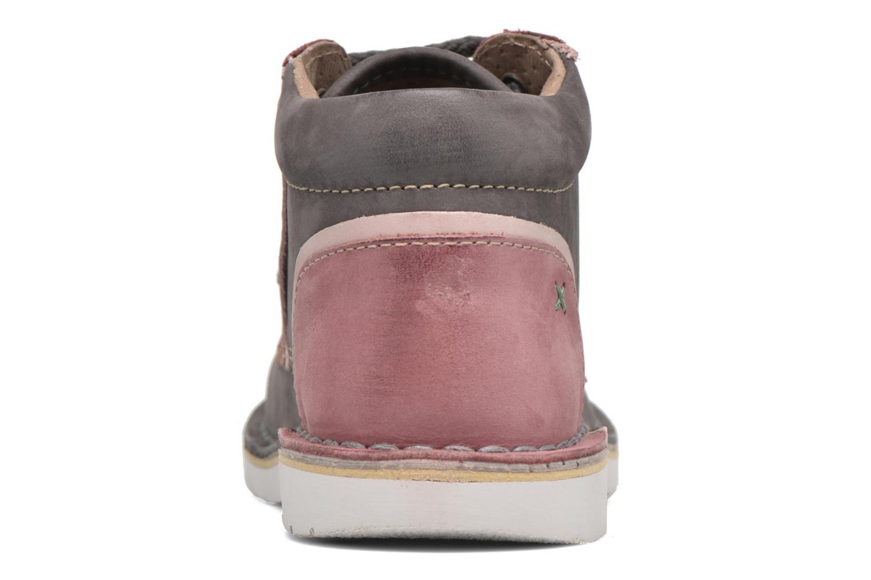 Bottines et boots Kickers Walla Gris vue droite