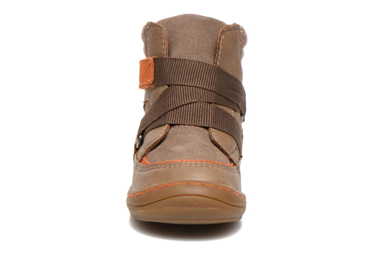 Bottines et boots Kickers Zedinon Wpf Beige vue portées chaussures
