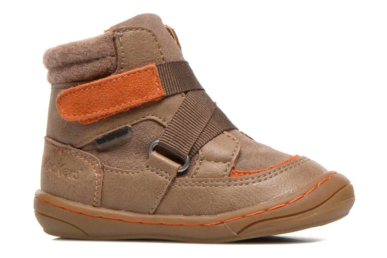 Bottines et boots Kickers Zedinon Wpf Beige vue derrière