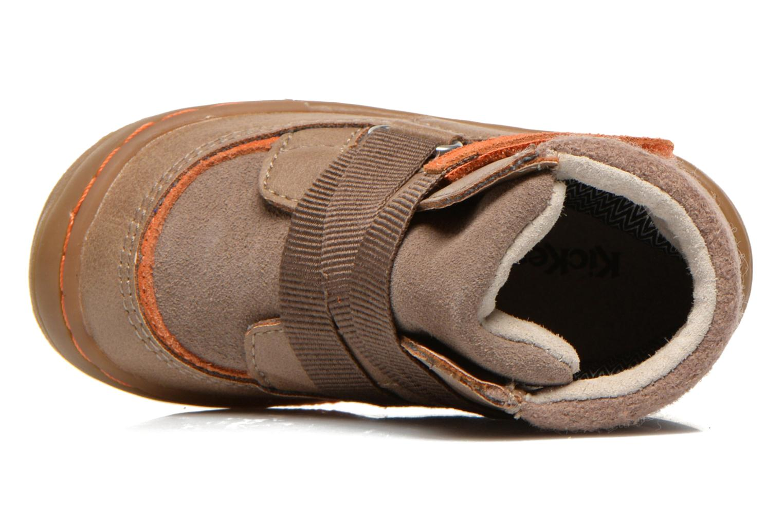 Bottines et boots Kickers Zedinon Wpf Beige vue gauche