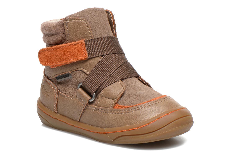 Bottines et boots Kickers Zedinon Wpf Beige vue détail/paire