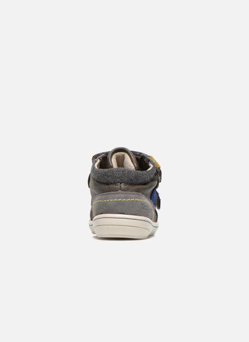 Sneakers Kickers Zyva Wpf Grigio immagine destra
