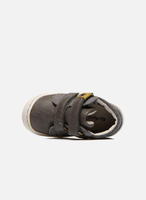 Sneakers Kickers Zyva Wpf Grigio immagine sinistra
