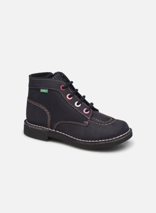Bottines et boots Kickers Kick Colz Bleu vue détail/paire