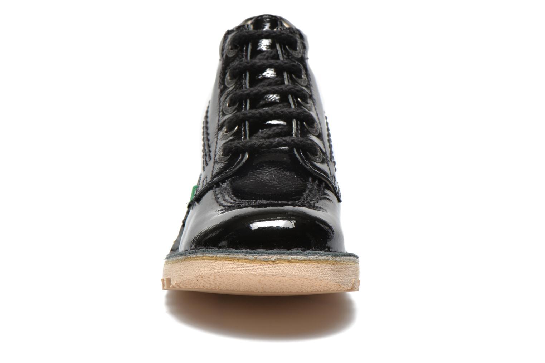 Chaussures à lacets Kickers Neorallye Noir vue portées chaussures