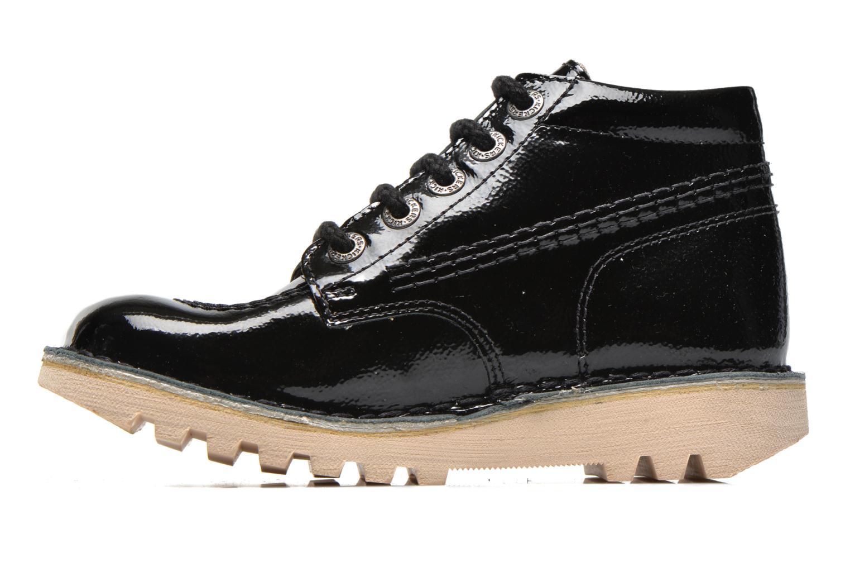 Chaussures à lacets Kickers Neorallye Noir vue face