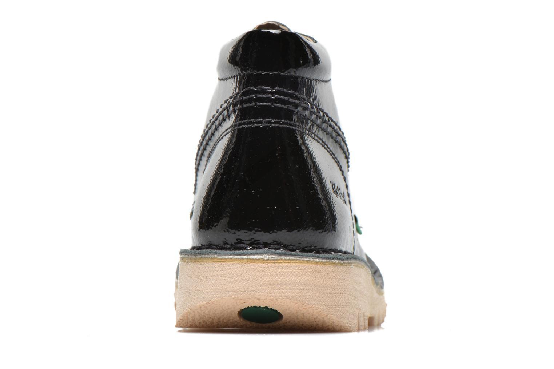 Chaussures à lacets Kickers Neorallye Noir vue droite