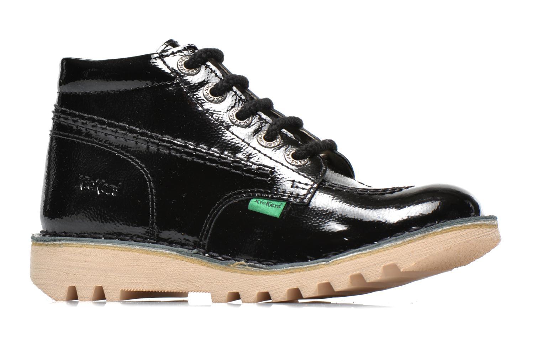 Chaussures à lacets Kickers Neorallye Noir vue derrière