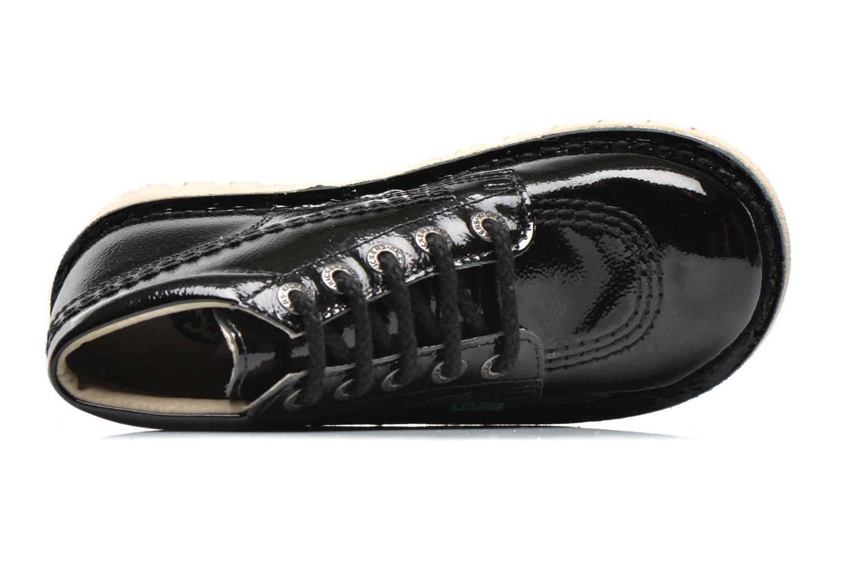 Chaussures à lacets Kickers Neorallye Noir vue gauche