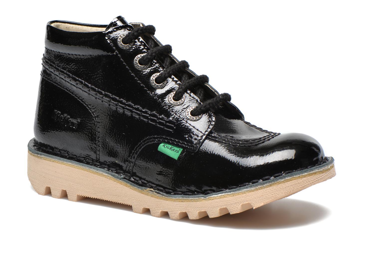 Chaussures à lacets Kickers Neorallye Noir vue détail/paire
