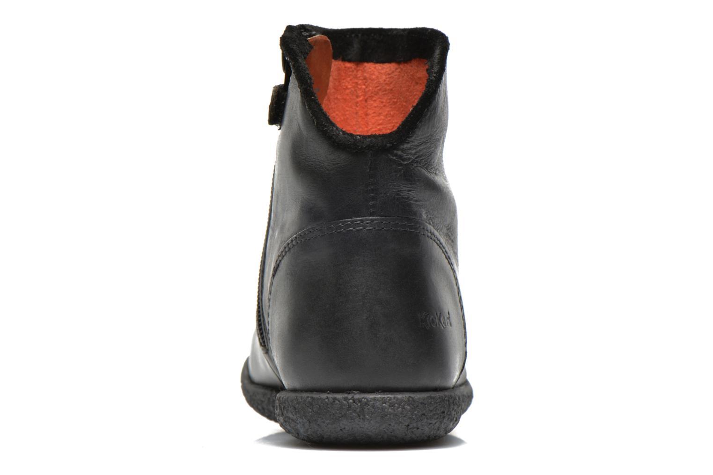 Bottines et boots Kickers Univers Noir vue droite