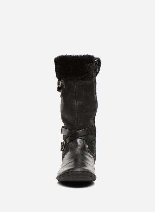 Botas Kickers Carmina Negro vista del modelo