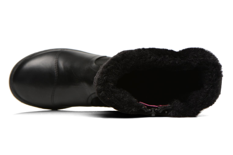 Bottes Kickers Carmina Noir vue gauche