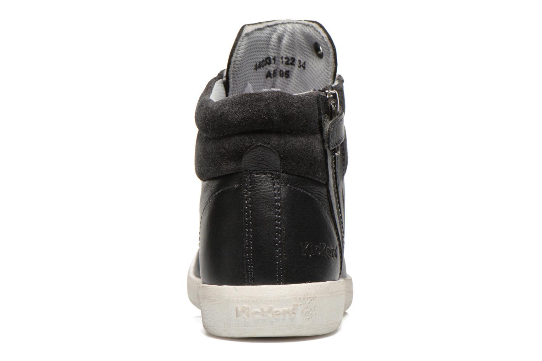 Baskets Kickers Hatila Noir vue droite