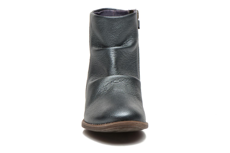 Bottines et boots Kickers Robber Bleu vue portées chaussures