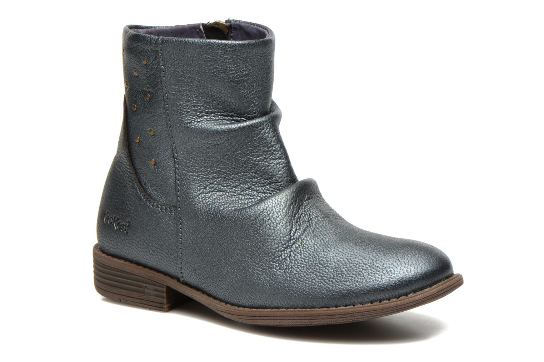 Bottines et boots Kickers Robber Bleu vue détail/paire