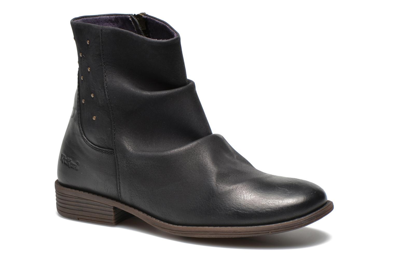 Bottines et boots Kickers Robber Noir vue détail/paire