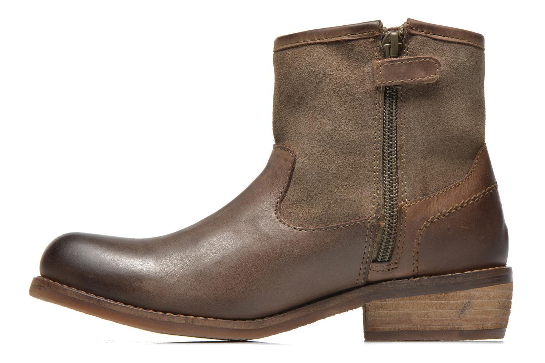 Bottines et boots Kickers Valka Marron vue face