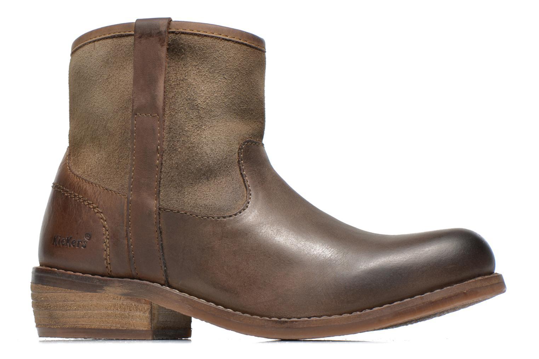 Bottines et boots Kickers Valka Marron vue derrière
