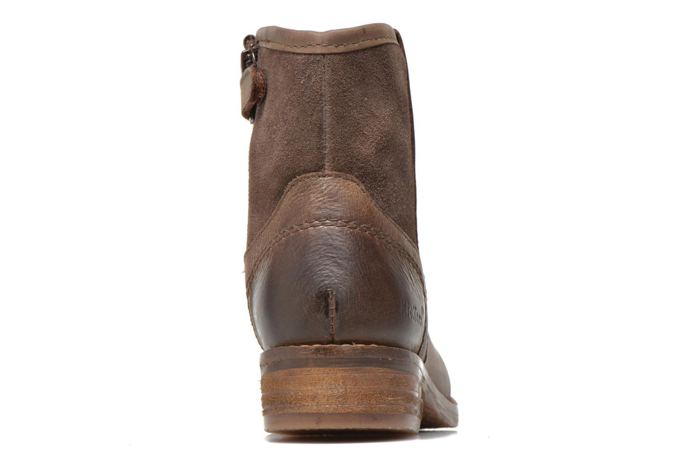 Bottines et boots Kickers Valka Marron vue droite