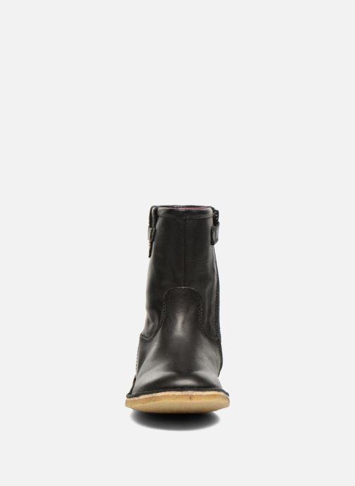 Bottes Kickers Cressona Noir vue portées chaussures