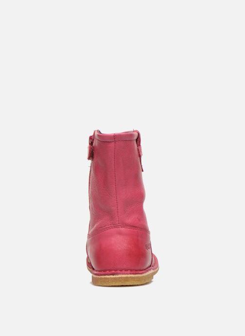 Laarzen Kickers Cressona Roze rechts