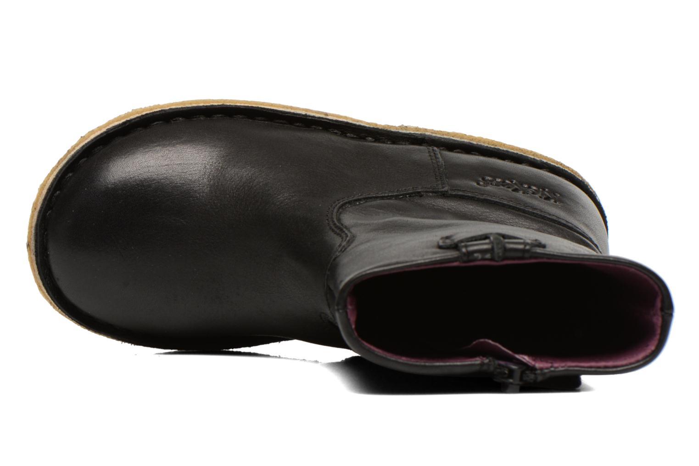 Bottes Kickers Cressona Noir vue gauche