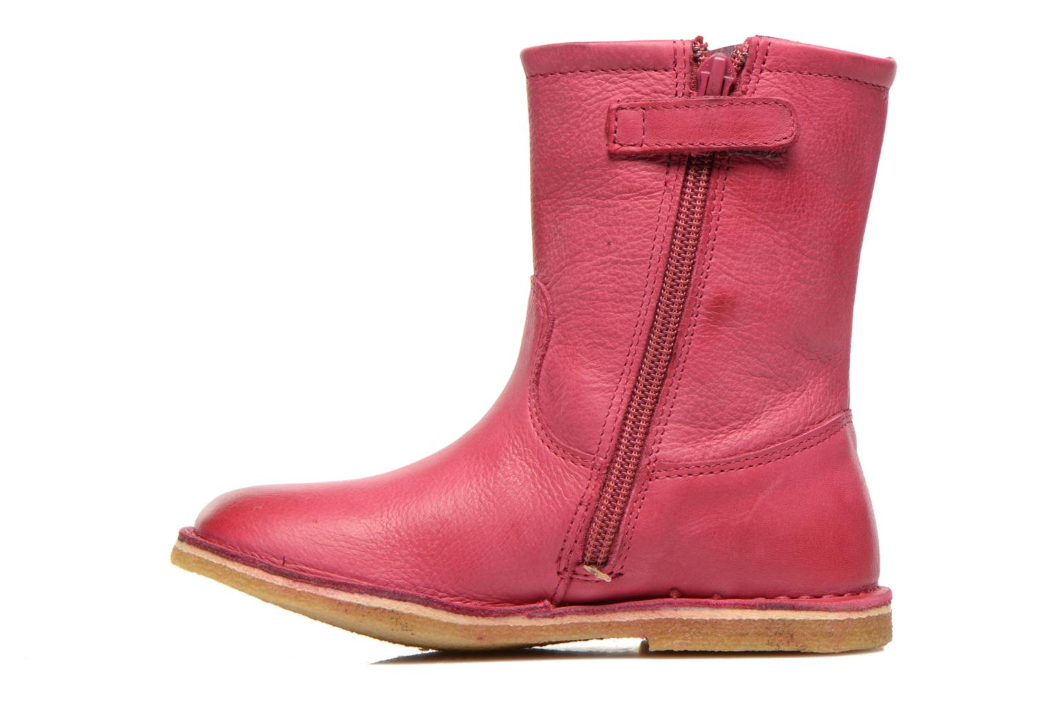 Bottes Kickers Cressona Rose vue face