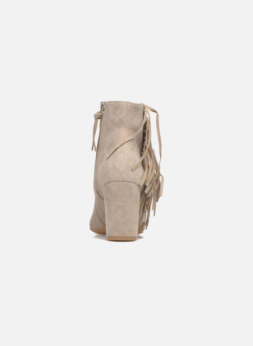 Bottines et boots Rebecca Minkoff Ilan Beige vue droite