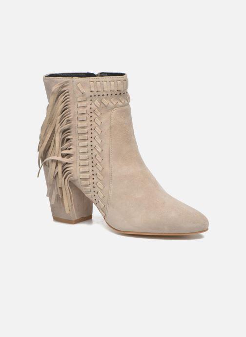 Bottines et boots Rebecca Minkoff Ilan Beige vue détail/paire