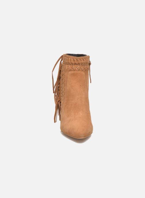 Bottines et boots Rebecca Minkoff Ilan Marron vue portées chaussures